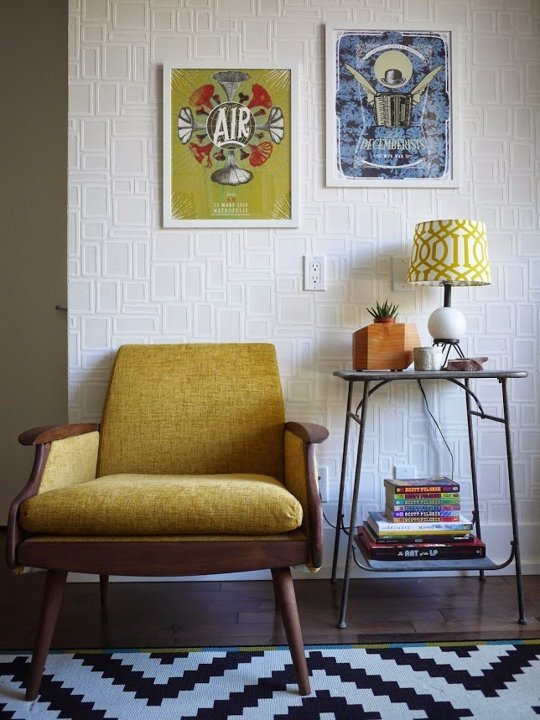 vintage chair furniture corner