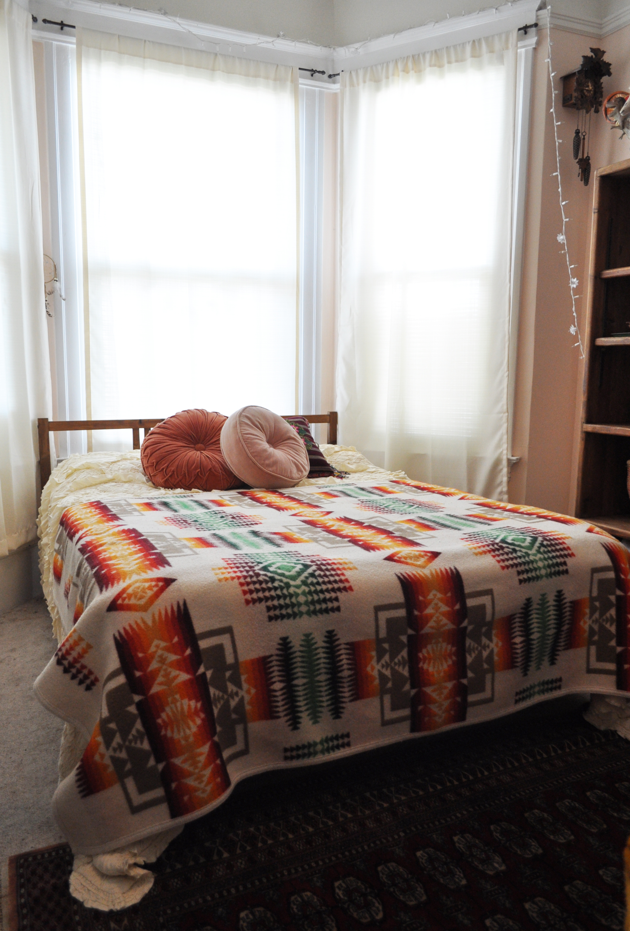 Ikea Fjellse Bed Interesting Diy Barnwood Headboard Ikea Bed Hack