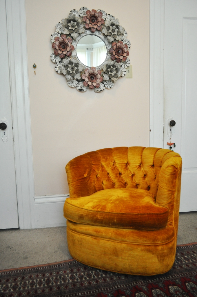 "A Chair in ""Golden Poppy"""