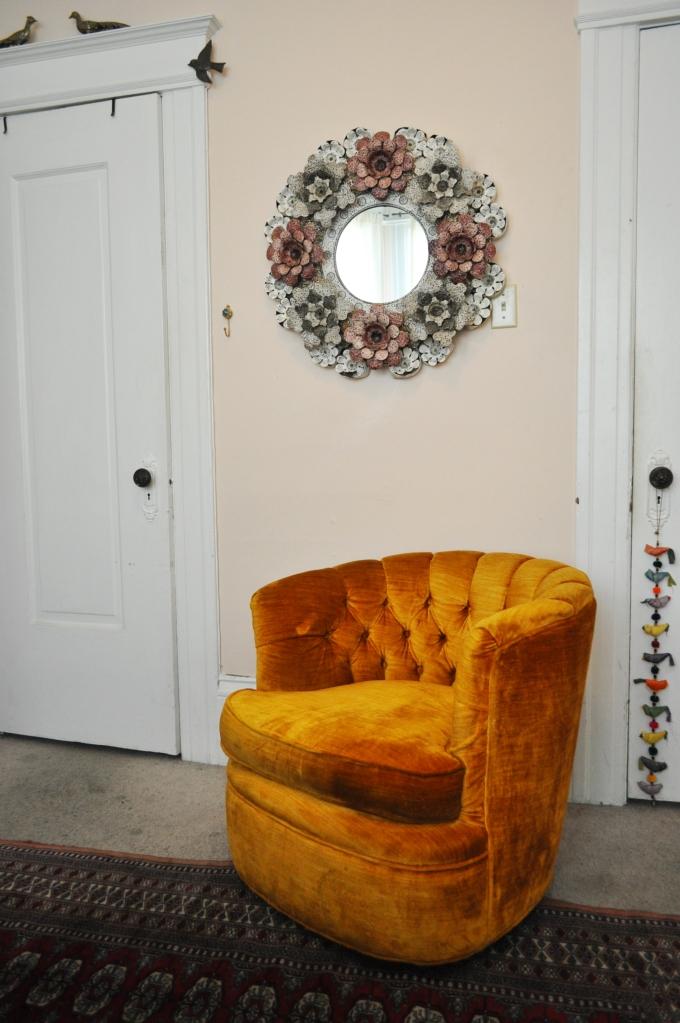 "A Chair in ""Golden Poppy"""