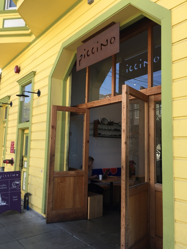 """""""Piccino Coffee Bar"""" on The Tufted"""